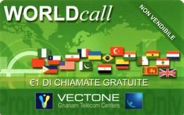 *ITALIA - VECTONE* -  Scheda Usata - Italia