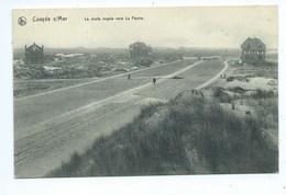 Koksijde Coxyde Route Royale Vers La Panne - Koksijde
