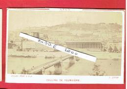 LYON RHONE VERS 1870 1880 COLLINE DE FOURVIERE PHOTOGRAPHE JOGUET A LYON PHOTOGRAPHIE CDV - Lieux