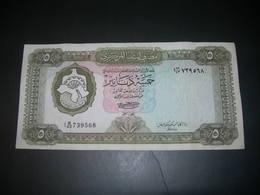 Libia  5 Dinars - Libye
