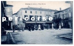 47  Clairac  Boucherie Et Restaurant Place Serres - France