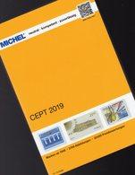 MlCHEL Katalog CEPT 2019 New 72€ Briefmarken Jahrgang-Tabelle Vorläufer Symphatie-Ausgabe Stamp Catalogue Of EUROPA - Topics