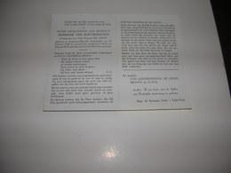 Germaine Van Goetsenhoven (Avant-les-Marcilly (Fr.) 1930-Heist 1970)xDe Looze - Devotieprenten