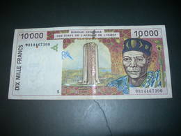 Afrique Dell'Ouest  10000 Francs - Billets