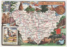43 - Haute-Loire Par J.P. Pinchon - Andere Illustrators