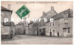 35  Luitré Café Tabac Place Et Route De Mayenne - Other Municipalities