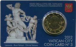 Vaticano 2012 Coin Card N.3 - Vaticano