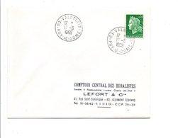 OBLITERATION MANUELLE DE VALBELEIX PUY DE DOME - Marcofilia (sobres)