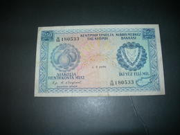 Cyprus 250 Mil 1978 - Chypre