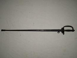 Epée De Sous Officier D'infanterie. IIIe République Modèle 1882 - Knives/Swords