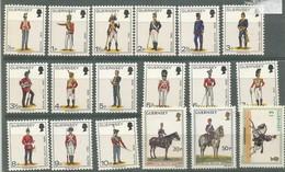 GUERNSEY 1974 MNH - COSTUMES ( 93-105 ) - Guernsey
