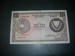 Cyprus  1 Lira 1978 - Chypre