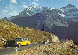 Simplonpass - Bus Autobus 1974 - VS Wallis