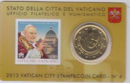Vaticano 2013 Stamp & Coin Card  - Papa Pope Giovanni  XXIII - Vaticano
