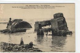 """1 Cpa Ile D'oléron - Epave Du Navire """"la Bourgogne"""" Perdu Sur Les Rochers De La Pointe De La Chardonnière En 1885 - Ile D'Oléron"""
