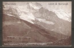 Carte P ( Allemagne / Chemin De Fer De Montagne ) - Trains