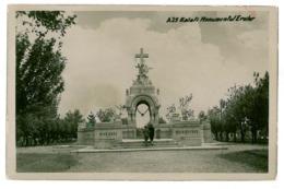 RO 54 - 2629 GALATI, Romania, Monumentul Eroilor - Old Postcard, CENSOR - Used - 1940 - Rumänien