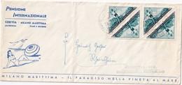 SAN MARINO 1954 LETTRE ILLUSTREE - Saint-Marin