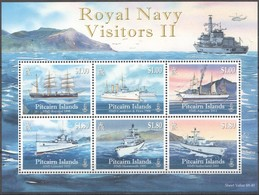 Pitcairn Islands 2010 Yvertn° Bloc 52 *** MNH Cote 20,00 Euro Bateaux Ships Boten - Timbres