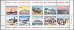 Nauru 2005 Yvertn° 532-541 *** MNH Cote 20,00 Euro Route To Victory Bateaux Ships Boten - Nauru