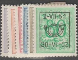PRE 41* ( 614/619)        .. - Typos 1951-80 (Chiffre Sur Lion)