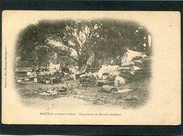 CPA - MAJUNGA Pendant La Peste - Campement De Banians (Indiens)  (dos Non Divisé) - Madagascar