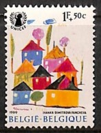 D - [205206]BELGIQUE 1969 - N° 1492-cur, Décalage à Gauche. - Abarten Und Kuriositäten