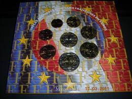 4 Coffrets Sous Blister  BU 1999 2000 2001 2002 - France