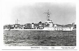 Torpilleur BRANLEBAS T113 - Guerre
