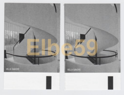 France, Poissy (78), Villa Savoye (arch. Le Corbusier), 2 Billets D'entrée, 18-11-2018 - Tickets D'entrée