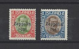 ISLANDE  YT  N°9/10  Neuf ** - 1918-1944 Autonomous Administration