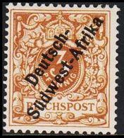 1897. Deutsch-Südwest-Afrika 3 Pf. REICHSPOST. (Michel 1d) - JF307877 - Colony: German South West Africa