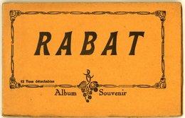 RABAT (MAROC)  ALBUM SOUVENIR Carnet De 12 Cartes Complet - Rabat