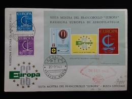 REPUBBLICA - Europa CEPT 1966 Serie + Foglietto Ricordo Ufficiale + Spese Postali - 6. 1946-.. Repubblica