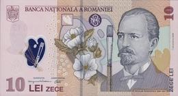 ROMANIA P. 119c 10 L 2007 UNC - Romania