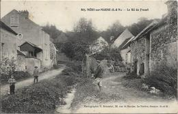 D77 -  MERY SUR MARNE - LE RÛ DU FROUET - Carte Animée - 1 Pêcheur - 2 Enfants Sur Le Chemin - Autres Communes