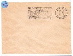 CALVADOS - Dépt N° 14 = HONFLEUR 1961 = FLAMME PP Non Codée = SECAP  Illustrée ' JOYAU Pour Les ARTISTES ' - Marcophilie (Lettres)