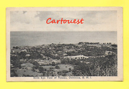DOMINICA - BIRDS EYE VIEW OF ROSEAU  (DOMINIQUE) - - Dominique