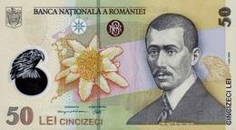ROMANIA P. 120c 50 L 2007 UNC - Rumania