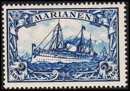1901. MARIANEN 2 MARK Kaiserjacht SMS Hohenzollern. (Michel 17) - JF307790 - Colonia:  Islas Maríanas