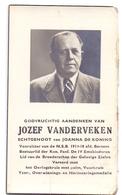 Devotie - Devotion - Doodsprentje Image Mortuaire - Jozef Vanderveken - Bertem 1891 - 1948 - Communion