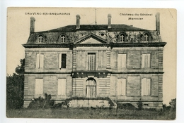 Calviac Château Du Général Marmier (château Du Gard) Rare - France