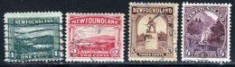 Terre-Neuve 1923 Yvert 117 / 120 (o) B Oblitere(s) - Terre-Neuve