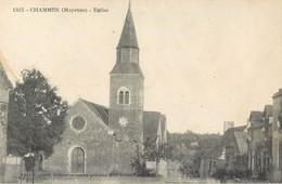 CHAMMES EGLISE 53 - France