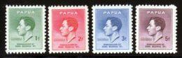 Papouasie 1937 Yvert 105 / 108 ** TB - Papouasie-Nouvelle-Guinée