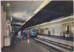 CPM - PARIS - METRO STATION DU LOUVRE - Edition Yvon - U-Bahnen