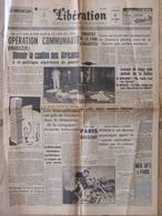 Journal Libération (11 Sept 1959) Caution Africains - La Callas - Enseignement Second Degré - 1950 - Oggi