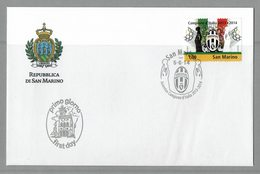 FDC SAN MARINO JUVENTUS FOOTBALL CHAMPION D'ITALIE 2014 - Equipos Famosos