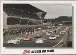 CPM - LE MANS - CIRCUIT 24 HEURES  - LA COURSE - Edition M.G. - Le Mans