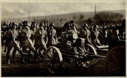 RPPC PROPAGANDA KARTE  UNSERE REICHSWEHR PARADE   SOLDATEN DEUTSCHES TERCER REICH NAZI - Weltkrieg 1939-45